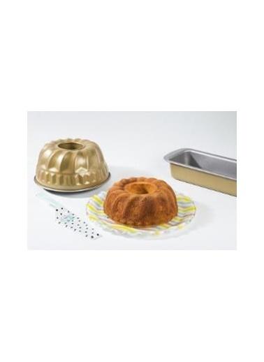 Tantitoni Silver Gold Renkli Klasik Kek Kalıbı 23Cm Renkli